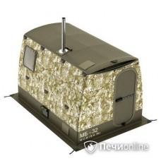 Мобильная баня Мобиба МБ-32 камуфляж