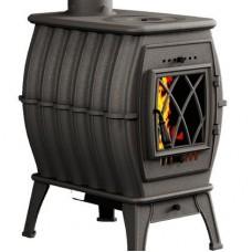 Отопительная печь для дома Прометалл Бахта NEW Черный