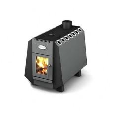 Отопительно-варочная печь Greivari Комбат Screen 250 куб.м, дровяная, шт