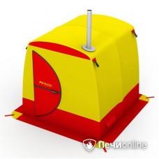 Мобильная баня Мобиба МБ-2 жёлто-красная